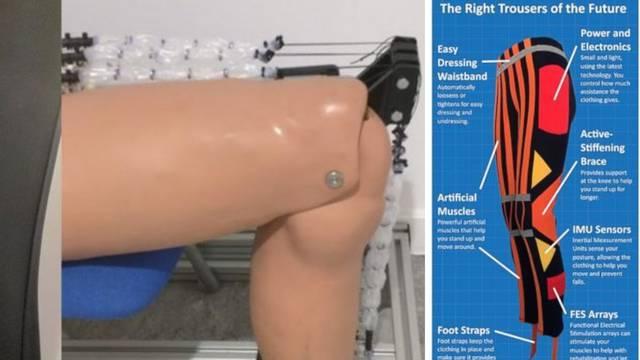 Genijalni izum: Robotske hlače pomagat će ljudima u kretanju