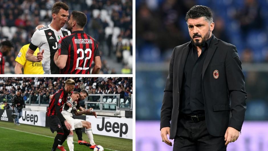 Gattuso: Mandžukić kao da se igrao u parku s prijateljima...