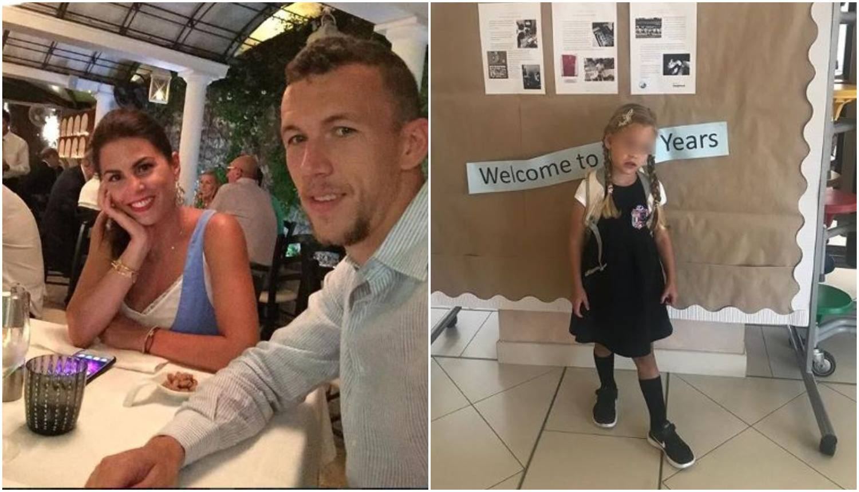 Kći Ivana Perišića (4) krenula u avanture: 'Manu je školarka'