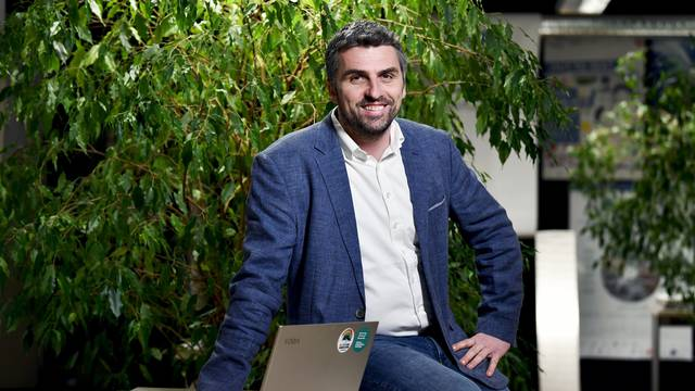 Robert Pašičko, stručnjak za zelenu energiju u UNDP-u, suosnivač Zelene energetske zadruge i docent na Geotehničkom fakultetu