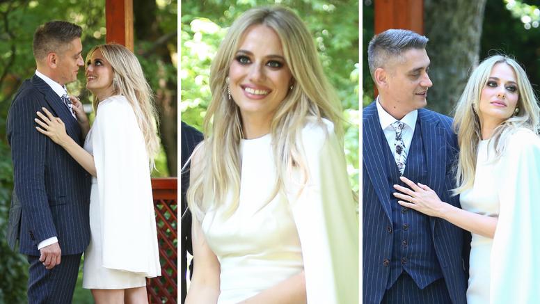 EKSKLUZIVNO Ovo su fotografije s vjenčanja iz Botaničkog vrta, Jelena nikad nije tako zračila...