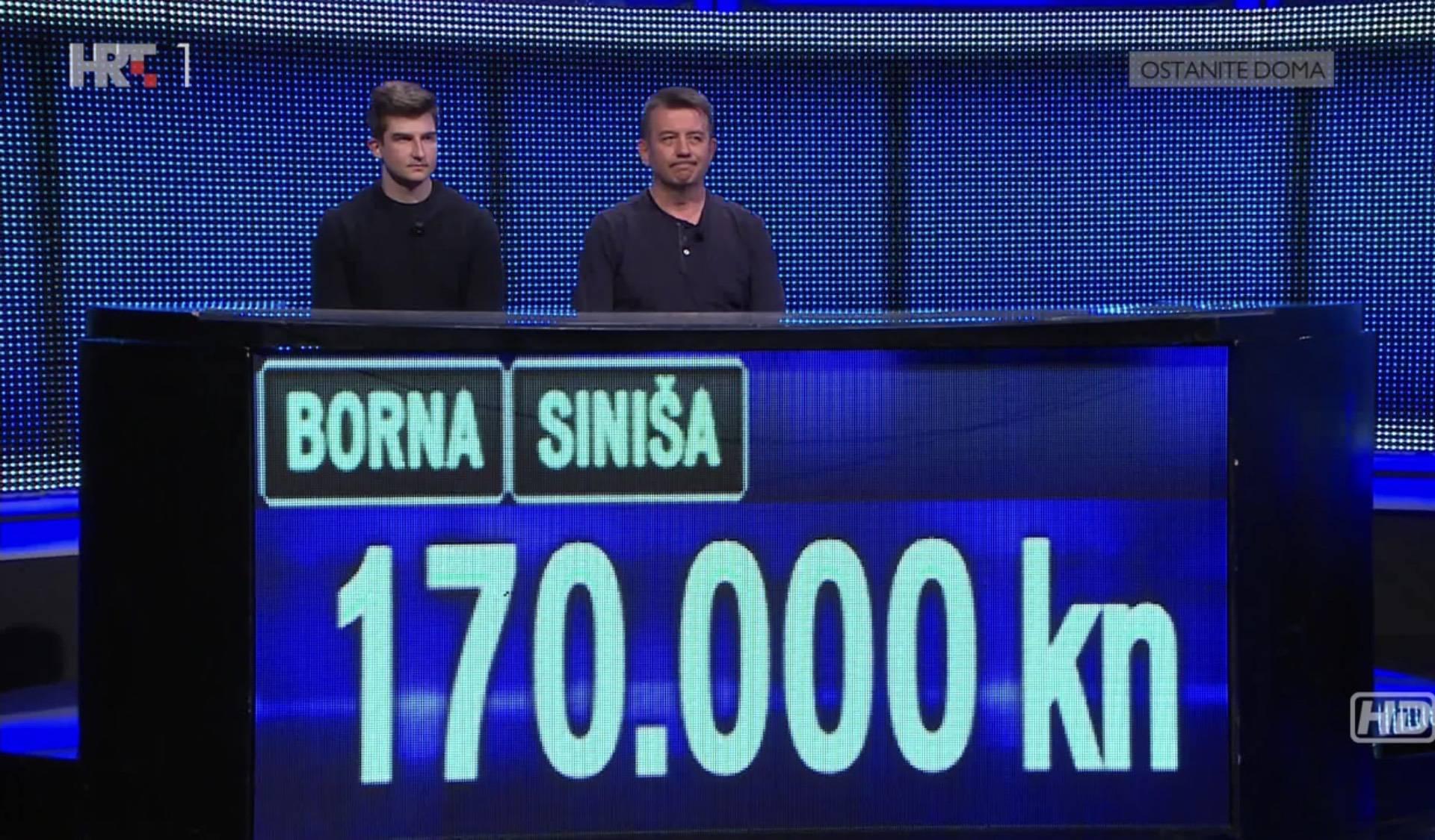 Dečki kući odnijeli 170 tisuća kuna, Krešo nije bio u formi...