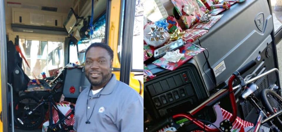 Vozač školskog busa svakom djetetu s rute kupio božićni dar