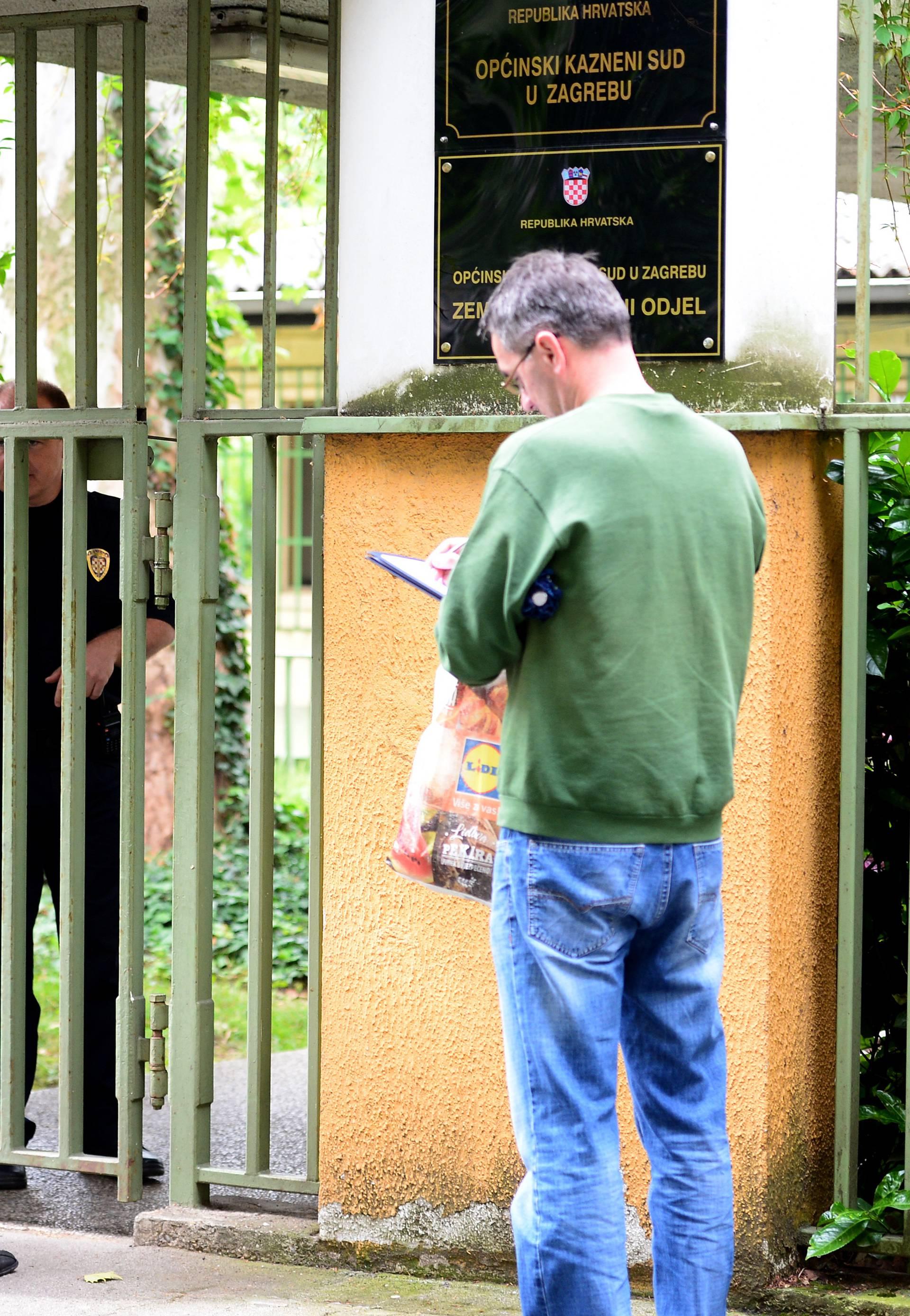 Zbog dojave o bombi ispraznili su Općinski kazneni sud u Ilici