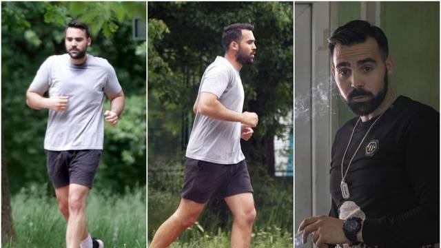 Zvijezda 'Južnog vjetra' trči po parku: Trening poslije izolacije