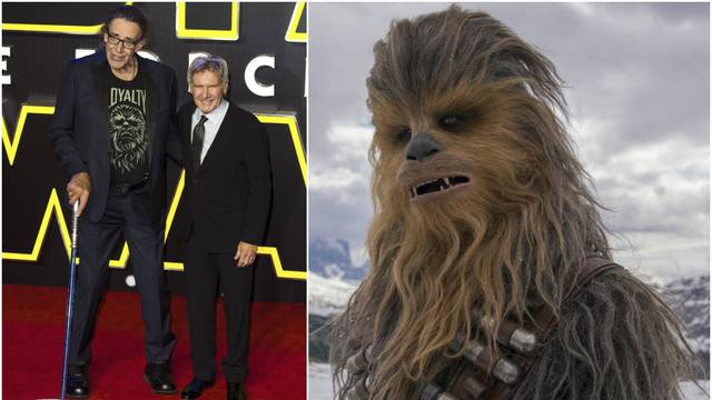 Chewbacca postao zbog visine od 218 cm, inspiracija bio pas