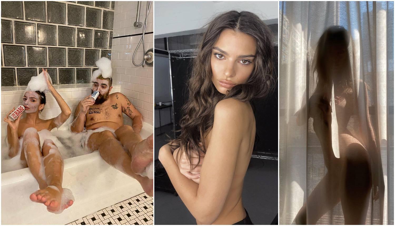 Emily Ratajkowski u karanteni: Svaki dan nova golišava fotka...