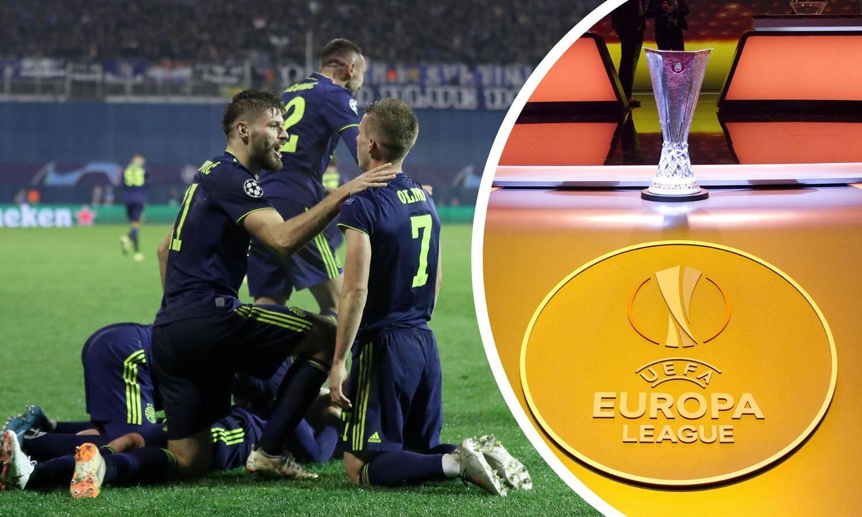 Dinamu u Europskoj ligi prijete Man. United, Arsenal, Borussia