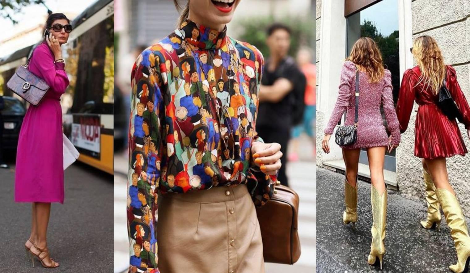 Milanski street-style se vratio: Boje, uzorci i minimalizam su tu