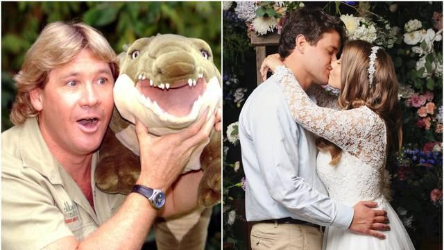 Udala se kći lovca na krokodile: Pir bio u zoološkom bez gostiju