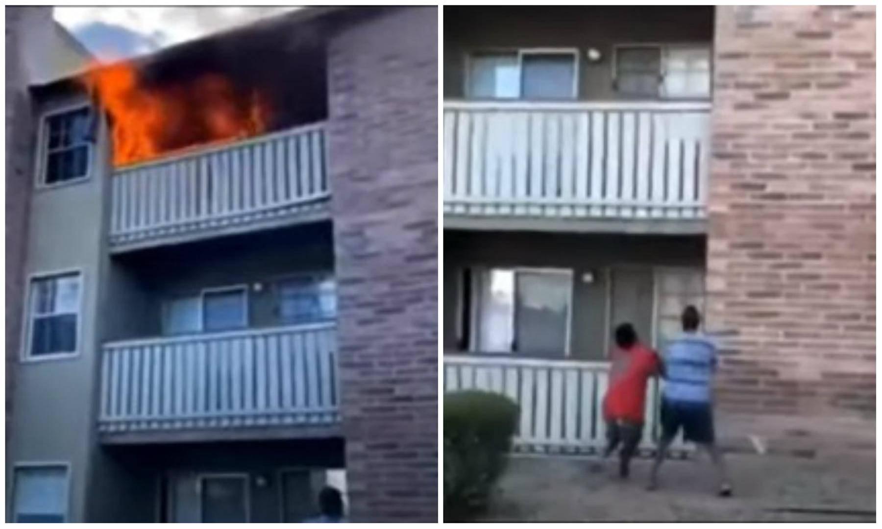 Dramatični prizori: Dijete padalo s vrha zgrade, heroj došao u zadnji trenutak