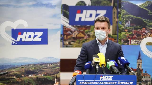 Krapina: Žarko Tušek održao je konferenciju za medije