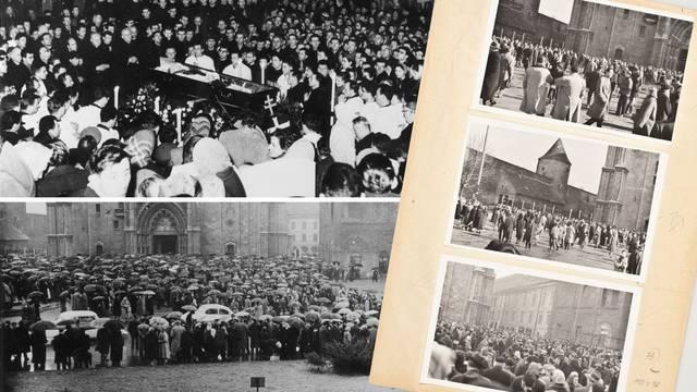 Šokantni Udbin dosje iz '60-ih: Ovo su tajne fotografije sa sprovoda kardinala Stepinca