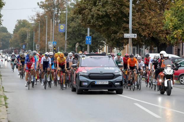 Startala prva etapa biciklističke utrke Cro Race od Osijeka do Varaždina