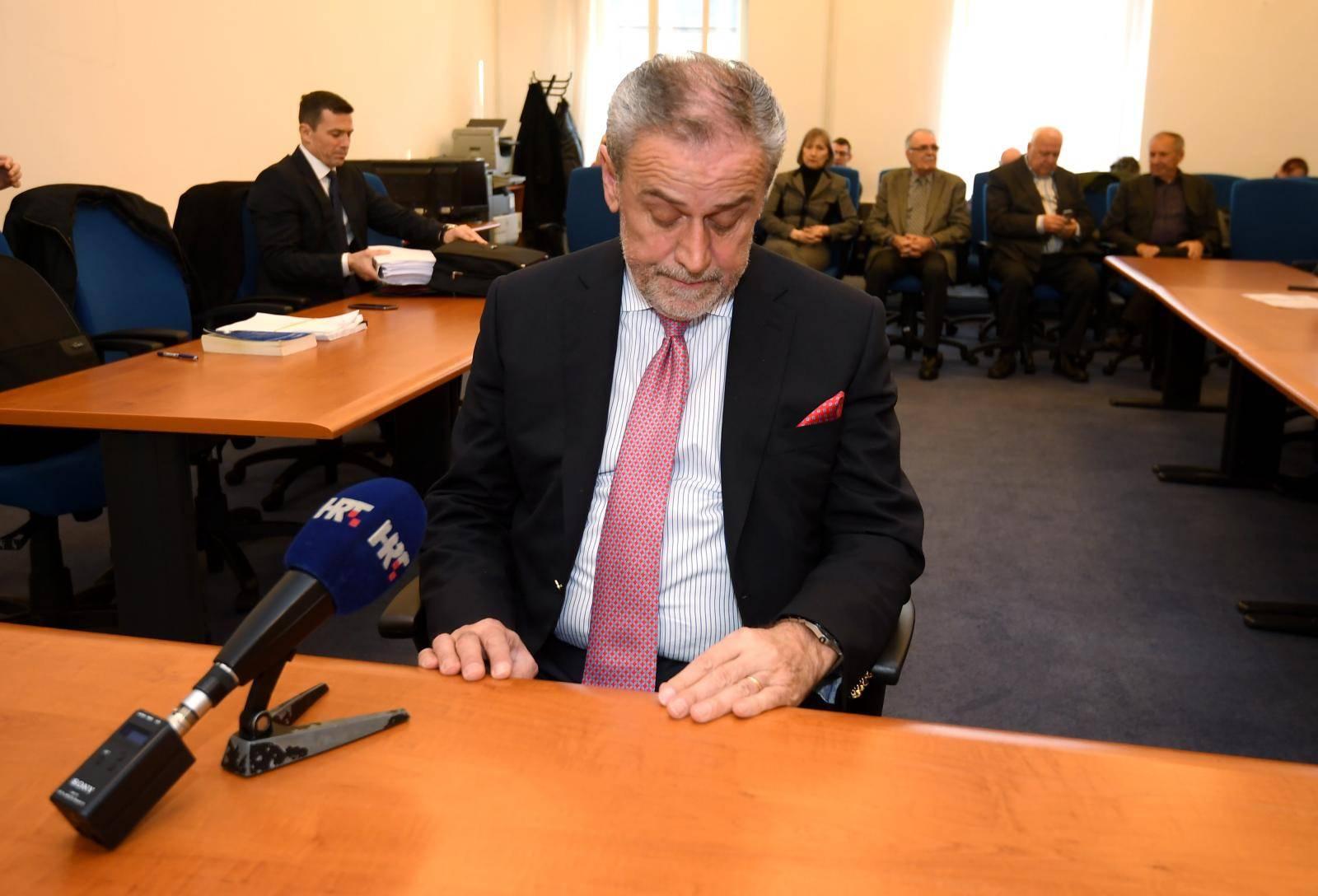 Zagreb: Bandić svjedočio na suđenju Davoru Jelaviću za aferu Nadstrešnice