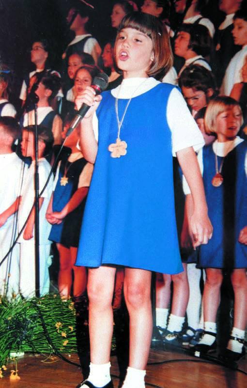 Povratak u djetinjstvo: Mala Franka je samo htjela pjevati