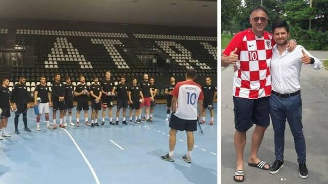 Moj prijatelj Luka: Goluža vodi treninge u Modrićevom dresu