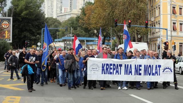 Rijeka: Veliki prosvjed za spas brodogradilišta 3. maj