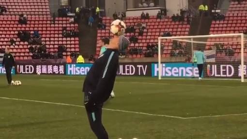 Hrvatski Ronaldinho: Šimunić oduševio navijače u Tampereu