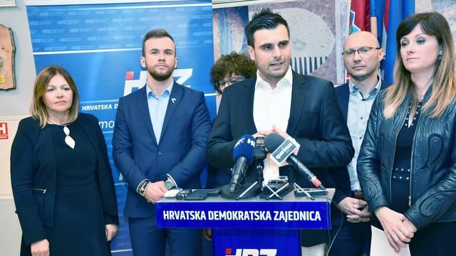 HDZ u Sisku održao konferenciju za medije