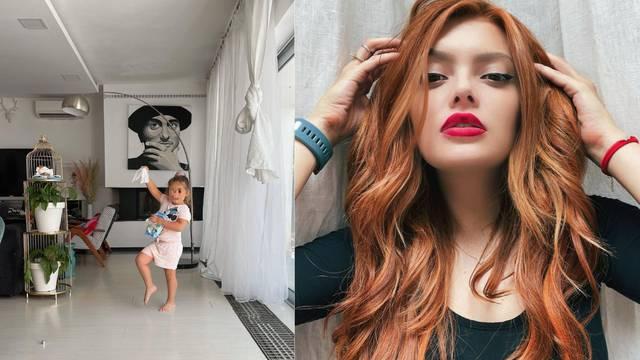 Ella pokazala dnevni boravak u Istri, portret oca Dine oduševio njezine pratitelje na Instagramu