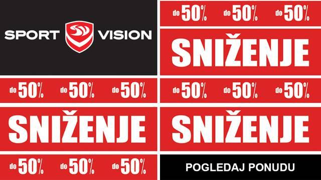 Sezonsko sniženje: cijene u Sport Visionu su do 50% niže