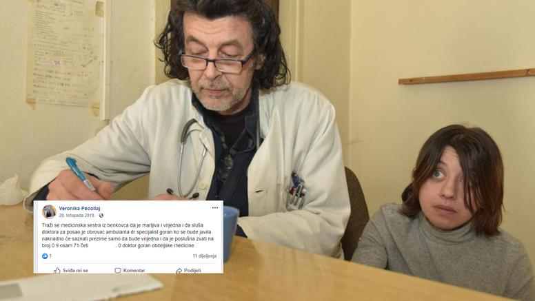 Ovako zaručnica traži doktoru sestru: 'Samo da je poslušna...'