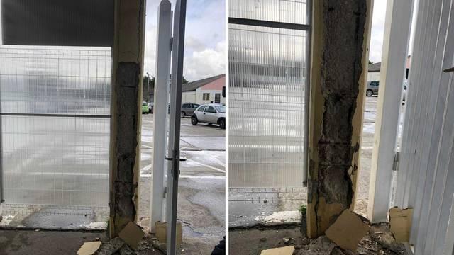 Odlomio se dio zida i pao je na dijete: 'Ruke su mu bile krvave'