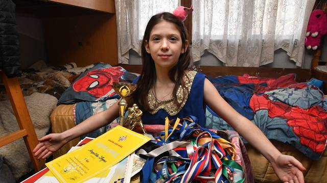 Rodila se sa 980 grama, danas osvaja medalju za medaljom...