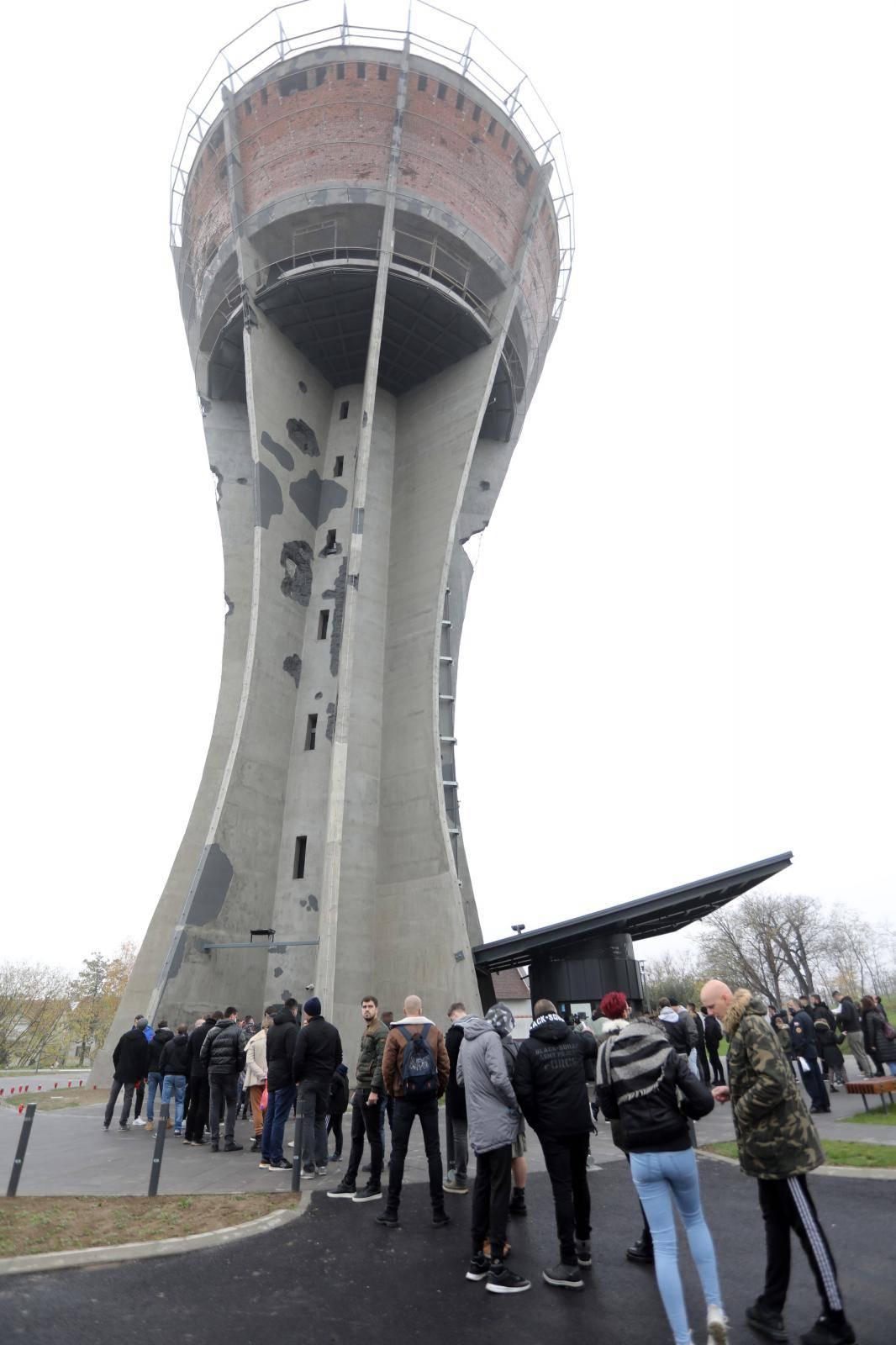 Vukovar: Veliki interes za ulazak u obnovljeni Vodotoranj