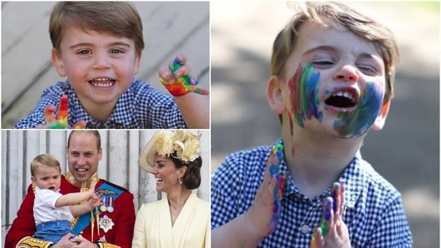 Princ Louis (2) slavi rođendan: 'Ovo su najslađe fotke danas'