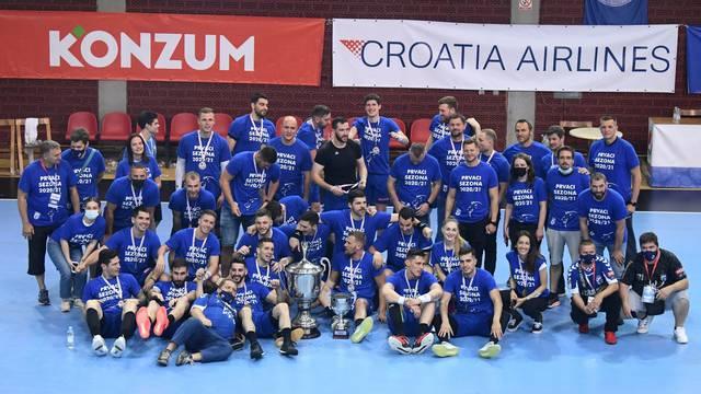 Zagreb: PPD Zagreb osvojio rukometnu Premijer ligu