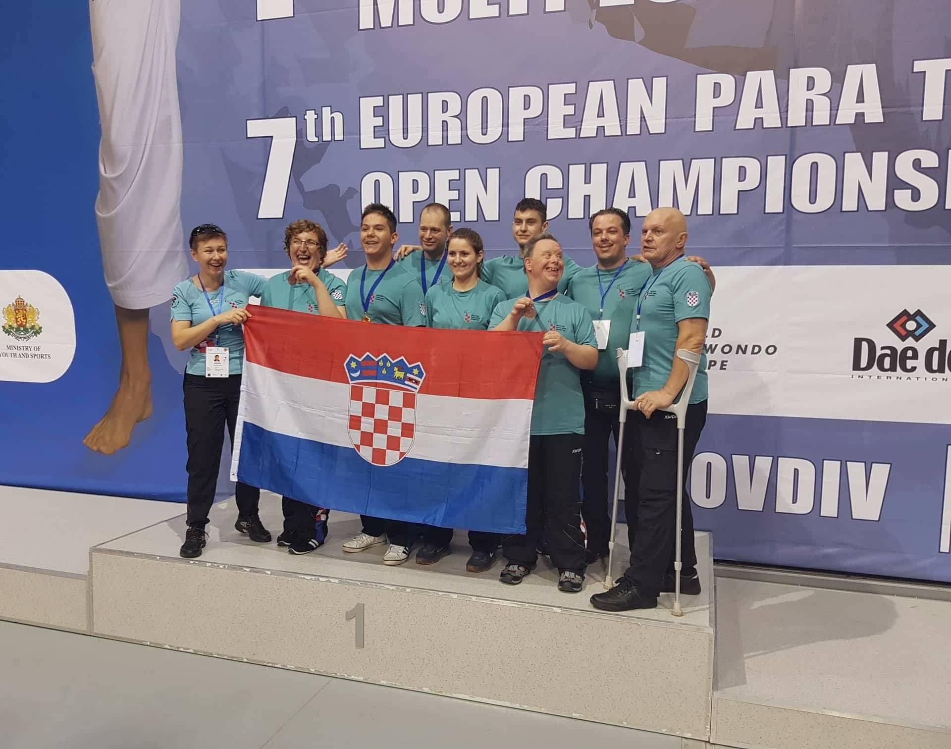 Zlato i tri bronce za hrvatsku para taekwondo reprezentaciju