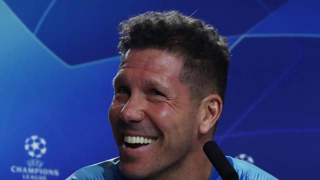 Champions League - Atletico Madrid Press Conference