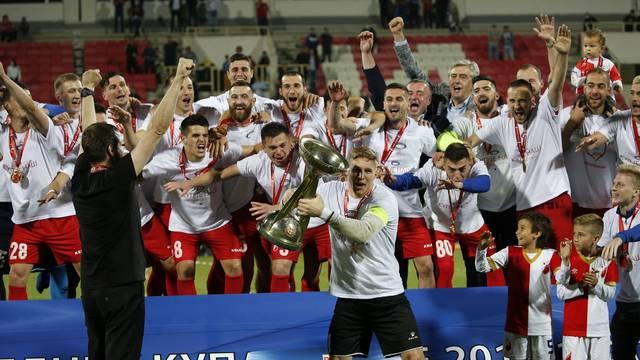 Niš: Nakon penala Vojvodina pobijedila Partizan i osvojila Kup Srbije