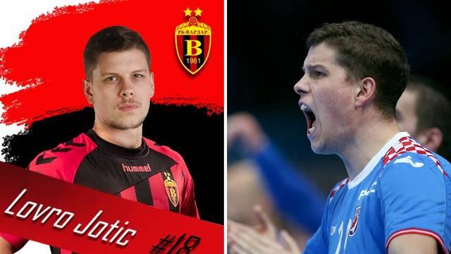 Još malo pa pun roster:  Jotić i službeno predstavljen u Vardaru