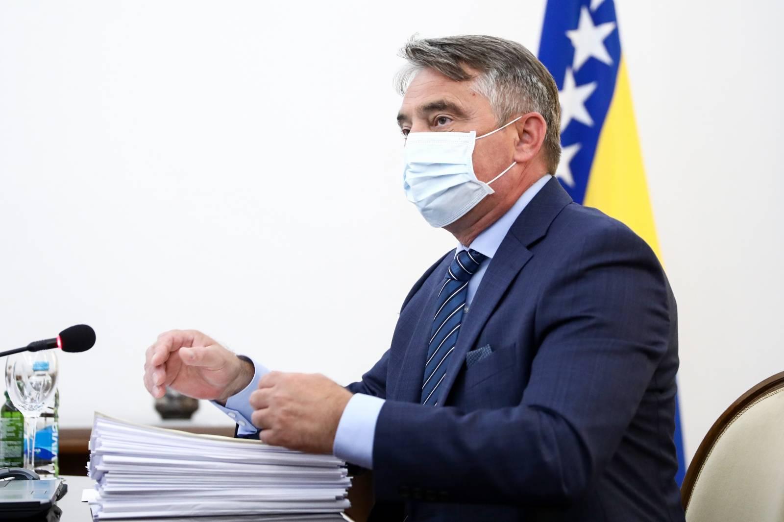 Sarajevo: Sjednica Predsjedništva BiH