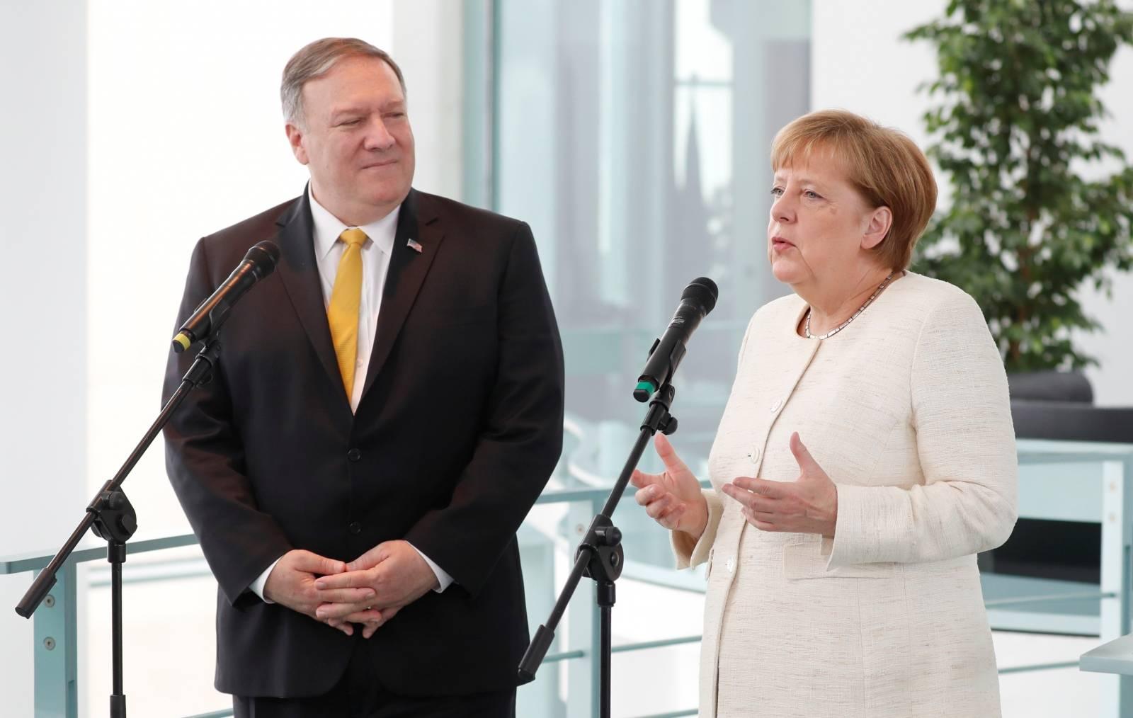 U.S. Secretary of State Mike Pompeo visits Germany