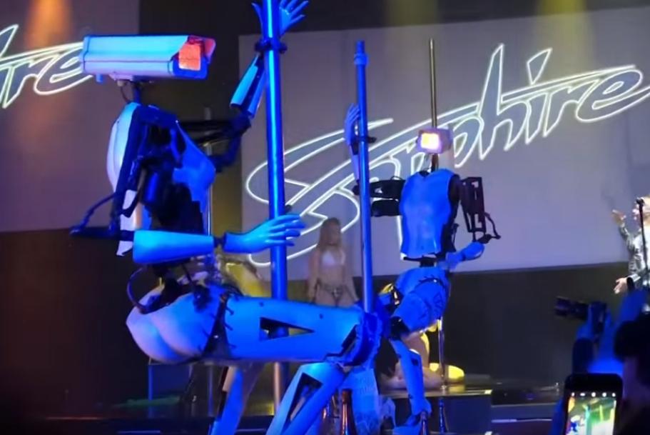 Rasplesane robo-striptizete u sve više klubova mame uzdahe