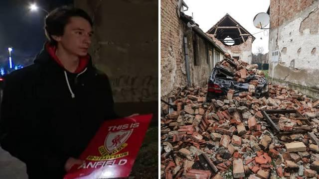 U potresu je ostao bez stana, spasio je samo Liverpoolov znak: Značio mi je jako puno...