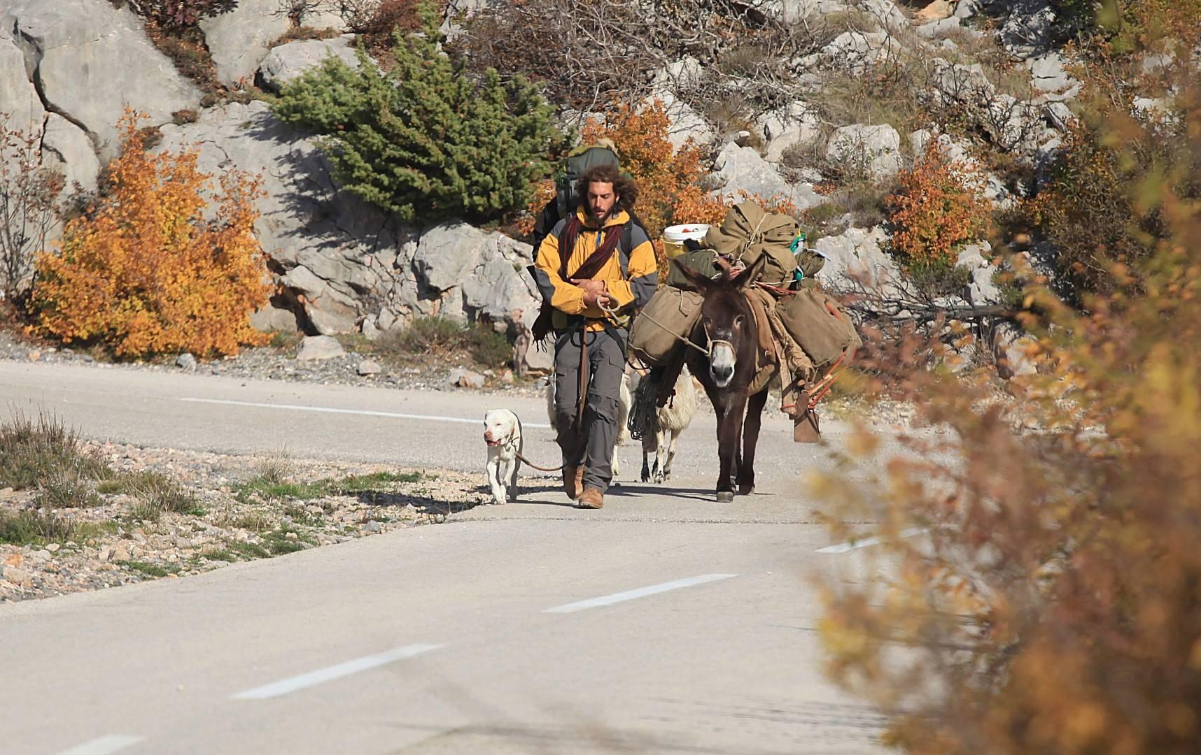 Putuje svijetom s magarcem
