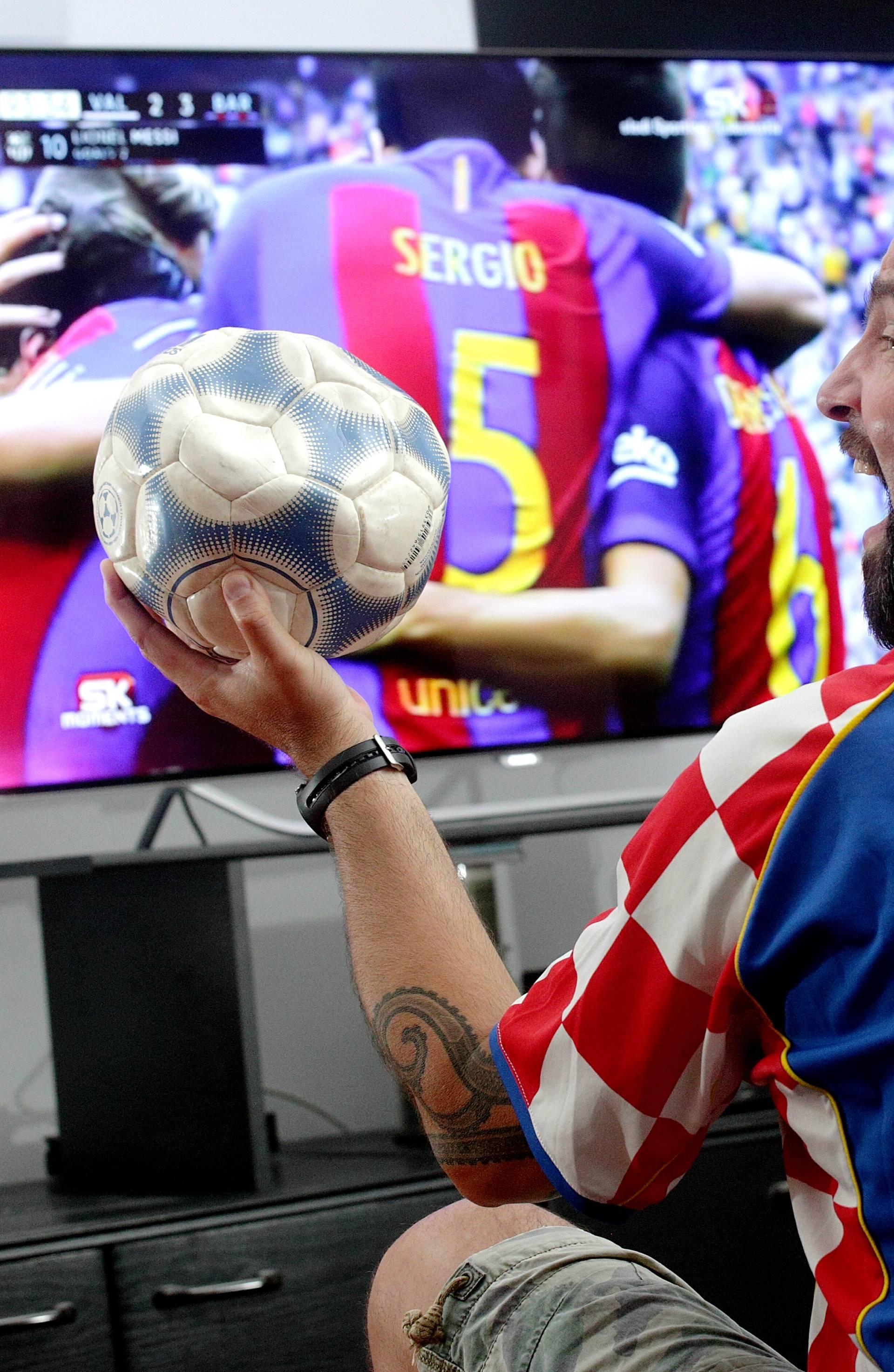 To je ljubav:  'Od najmanjih sam nogu bio ovisnik o nogometu!'