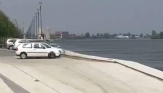 Automobilom namjerno sletio u Dunav: Pokušao ubiti suprugu?