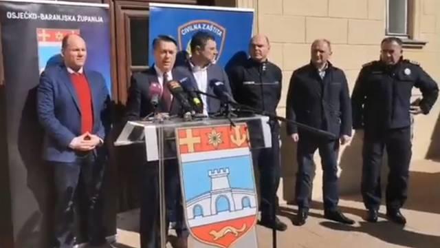 U Osijeku se 435 ljudi nalazi u samoizolaciji: 'Ne paničarite!'