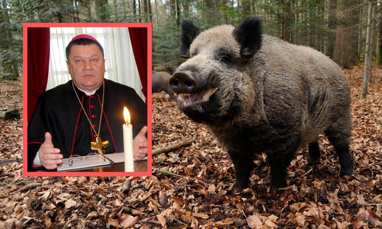 Biskupu Huzjaku je žao, lovac se oporavlja, vepar i dalje  rokće