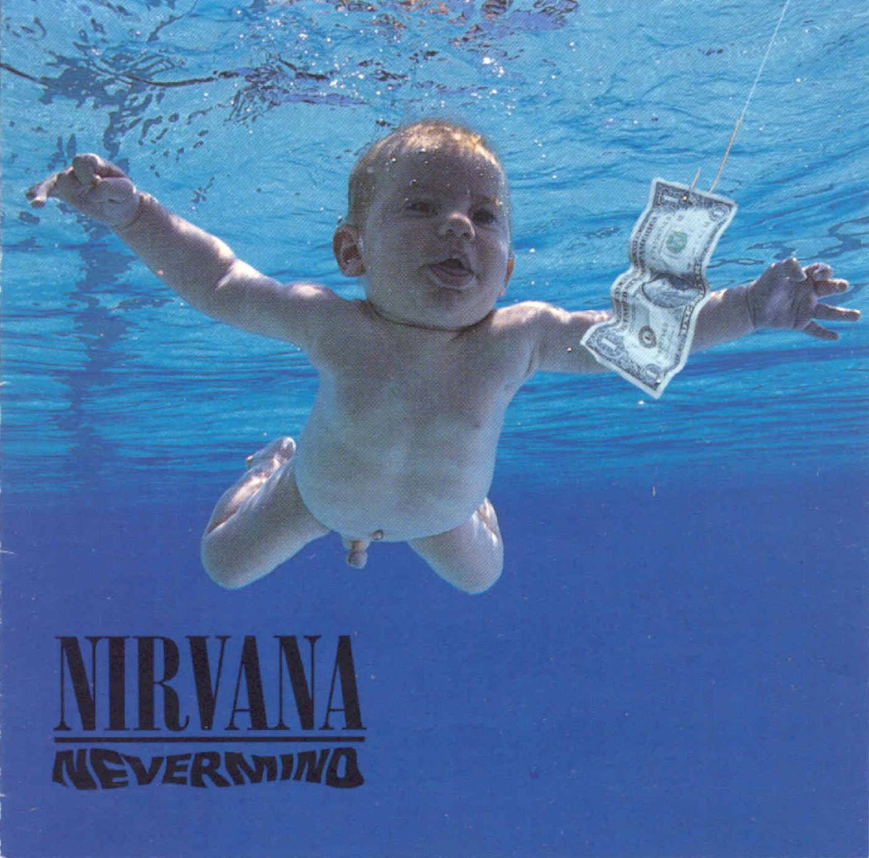 Spencer Elden - the baby featured on Nirvana's 'Nevermind' album cover