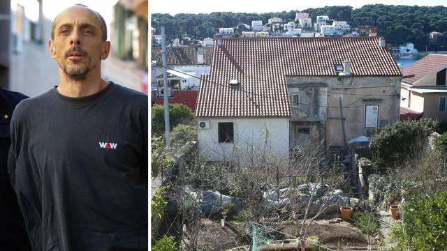 Susjedi su ubojicu iz Lošinja vidjeli da pred kućom oštri nož