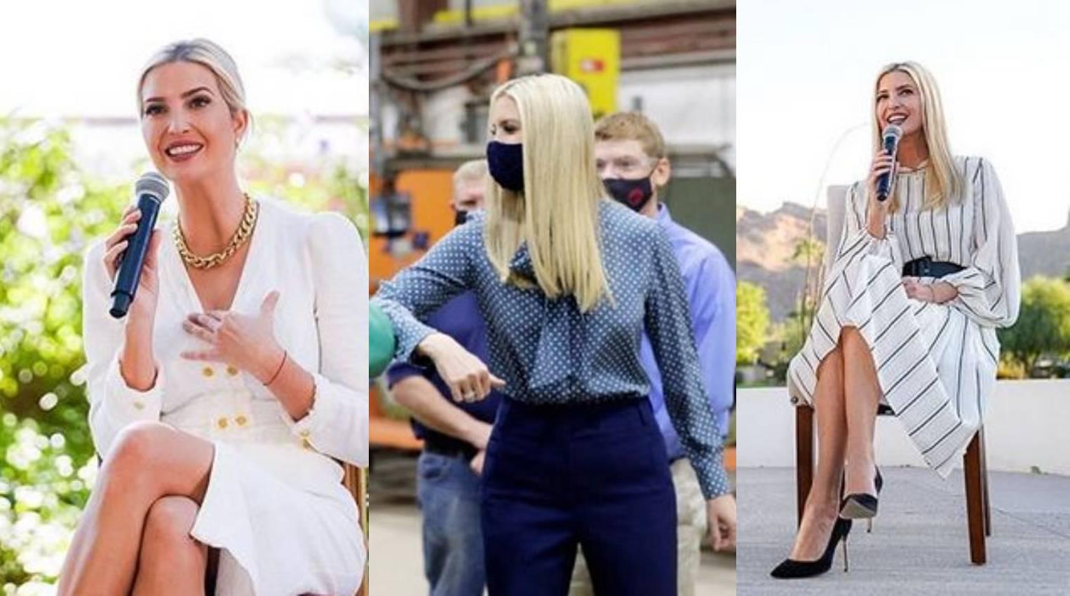 Ivanka Trump ima favorite: Fine haljine, košulje i navy nijanse