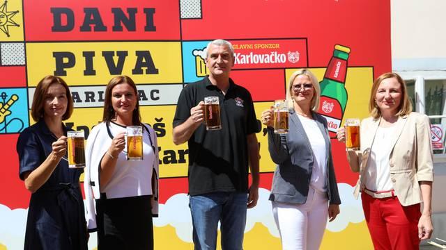 Karlovac: Gradonačelnik i ostali suradnici najavili 34. izdanje Dana piva
