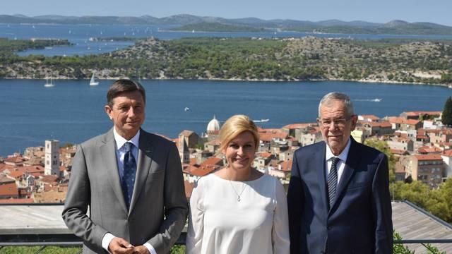 Šibenik: Grabar-Kitarović, Pahor i Van der Bellen na šestom trilateralnom sastanku